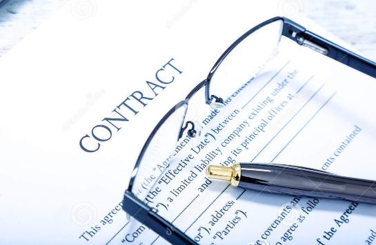 企业要完善相应的合同